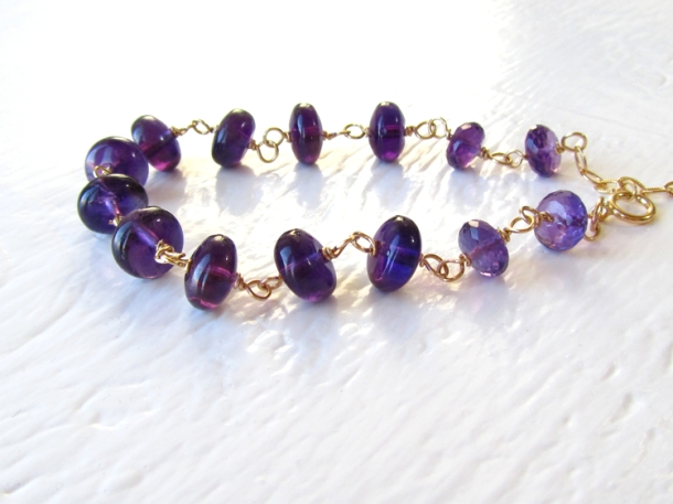 Amethyst Bracelet 750